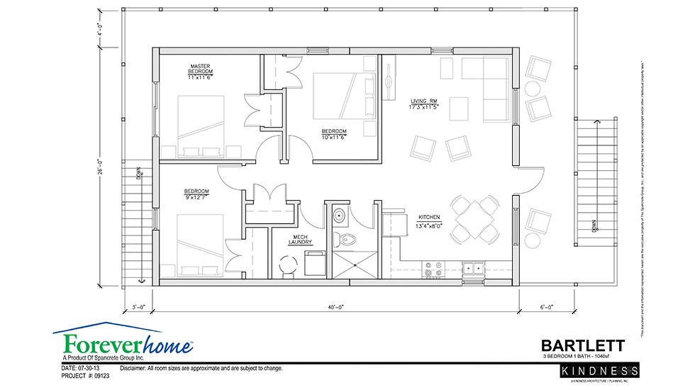 Open Concept House Plans 40 X 40 Joy Studio Design
