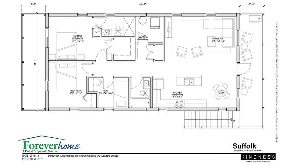 Suffolk Floor Plan