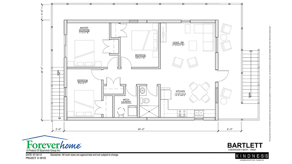 Bartlett Floor Plan